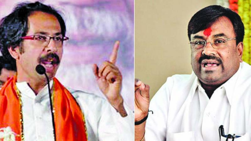 Uddhav Thackeray and Sudhir Mungatiwar