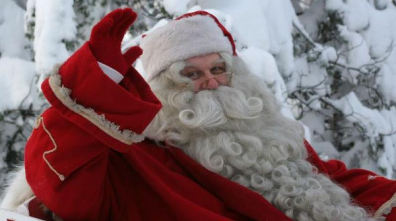 The statement as published on Policy Horizons Canada website says that rising global temperatures, rapidly melting Arctic ice and increase in destructive drilling activity has prompted Santa to permanently move his operations. (Representational image)