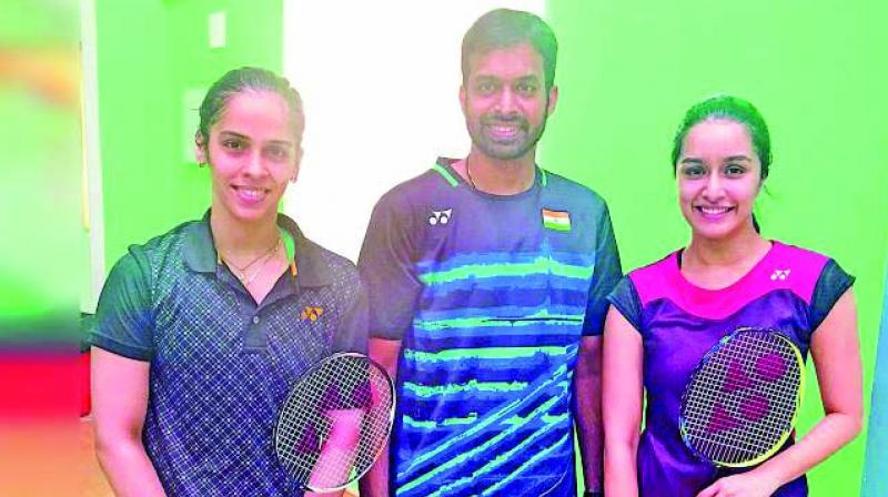 Shraddha Kapoor, who has been roped in to play badminton champ Saina Nehwal, cannot seem to get into the skin of her character.