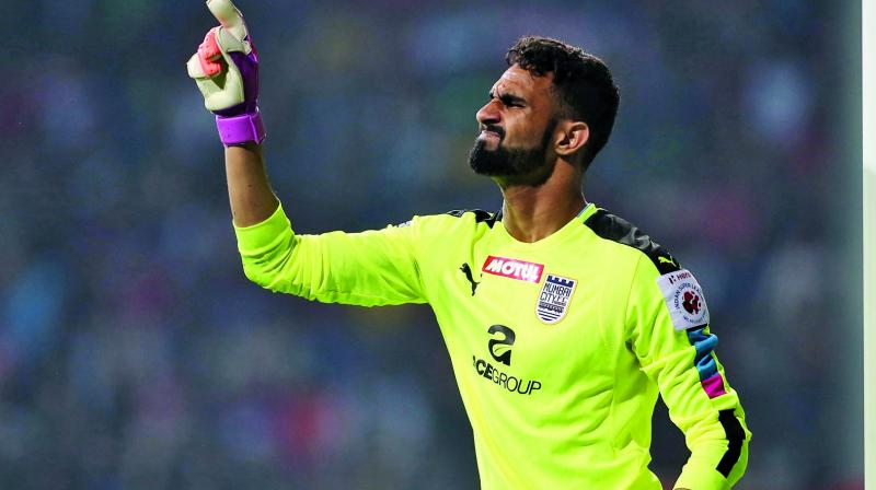 Amrinder Singh has established his spot as one of the top goalkeepers of the country.