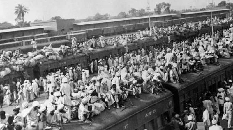 A file photograph shows railway wagons packed with refugees during the Partition.  The Partition displaced over 14 million people along religious lines, creating overwhelming refugee crises in the newly constituted dominions. (Photo: AFP)