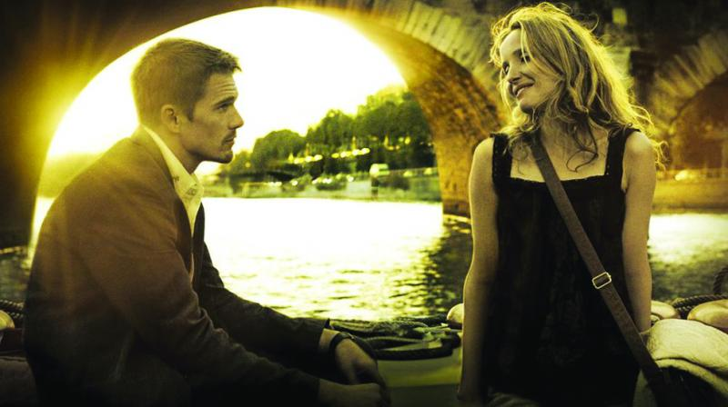 A still from the film Before Sunset
