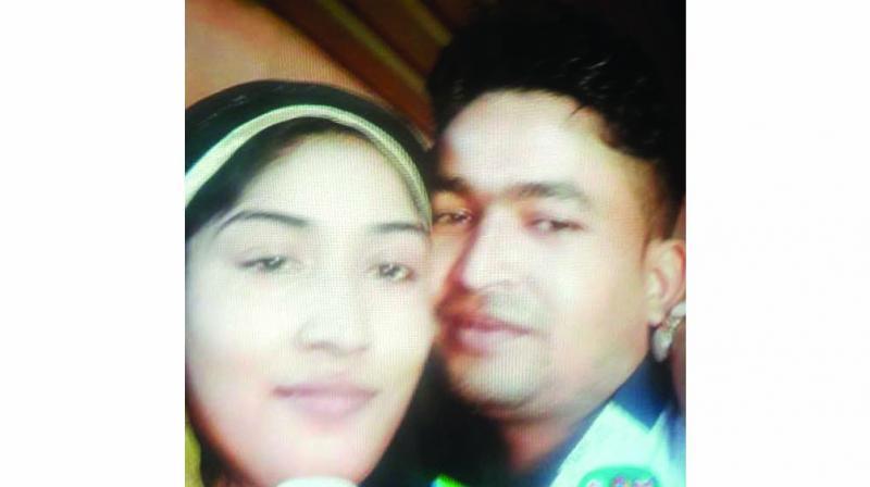 Annabibi and her husband