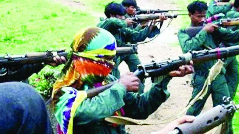 File picture of Naxals