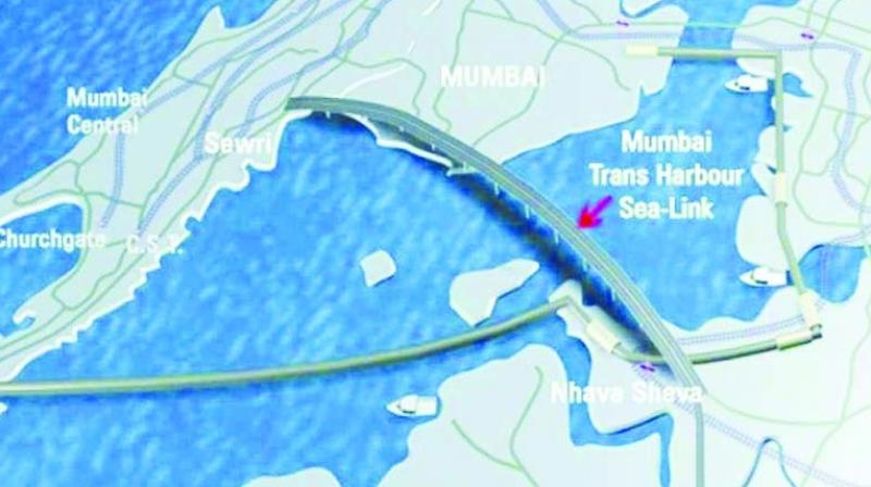 Representational image of Mumbai Trans Harbour Link