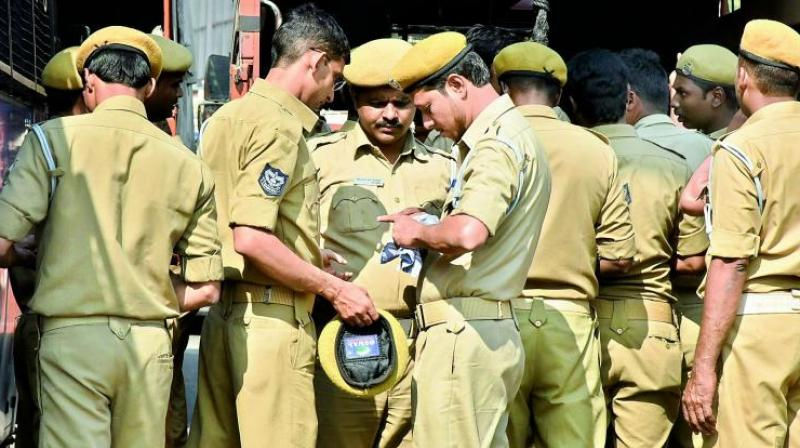 In the second incident, two policemen were suspended for allegedly beating up an MCD sweeper for not cleaning a police booth in Southeast Delhi's Sarita Vihar, the police said. (Representational image)