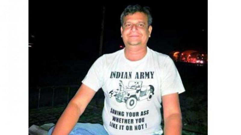 Recently a T-shirt with a message highlighting the Army's role was quite in vogue.