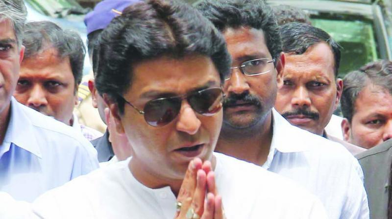 The MNS on Monday dubbed as 'political vendetta' the Enforcement Directorate's (ED) notice to party chief Raj Thackeray in connection with its money laundering probe in the IL&FS alleged payment default case. (Photo: File)