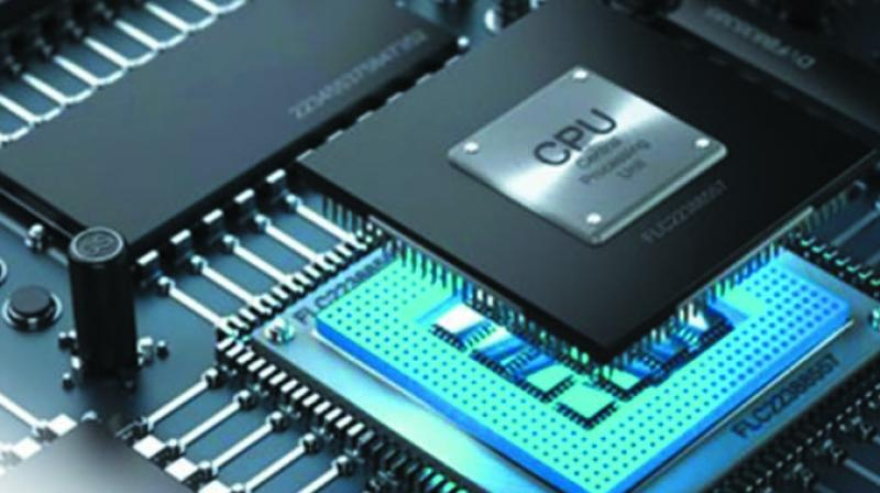 Semiconductors are the brains of electronic devices, enabling them to run programmes and store memory.