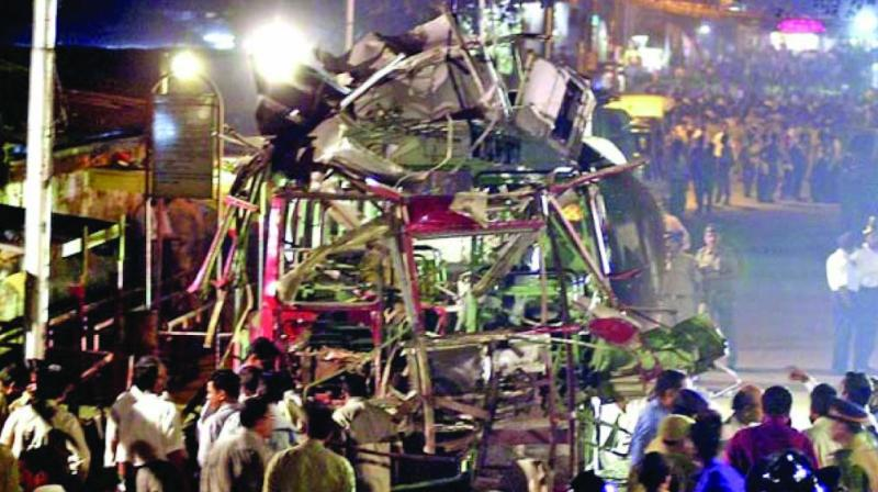 The bomb blasts had resulted in a loss of public property worth around Rs 5,33,650.