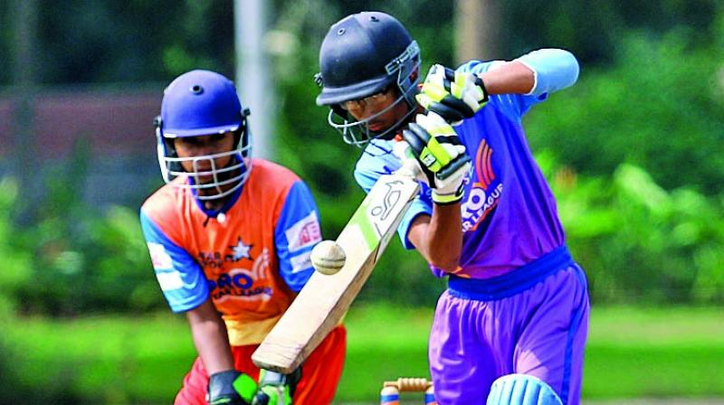 Don Bosco managed to put only 122 on the board after winning the toss and electing to bat.