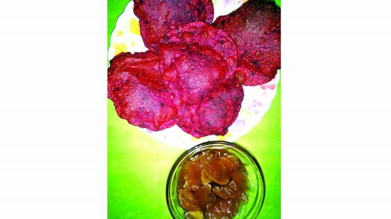 Beetroot Puri