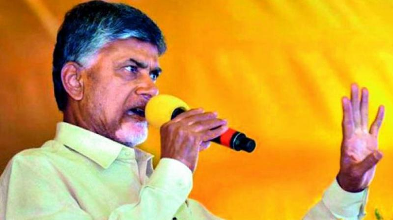 Andhra CM Chandrababu Naidu took a jibe at central government for causing hurdles in their endeavours to build Amaravati as smart city. (Photo: File)