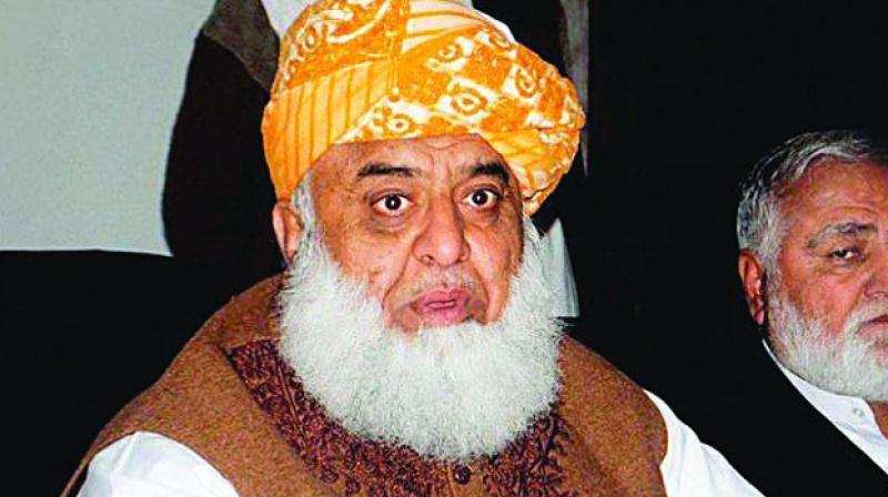 Leading the pack is Maulana Fazlur Rehman, head of the JUI-F, who has called upon his followers to use whatever means at their disposal against the participants.