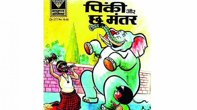 Started in 1978, Diamond Comics is full of memorable characters like Chacha Chaudhary, Billoo, and Motu-Patlu.