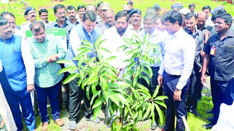 CM announced an ambitious mission of planting 13 crore trees by July 2019