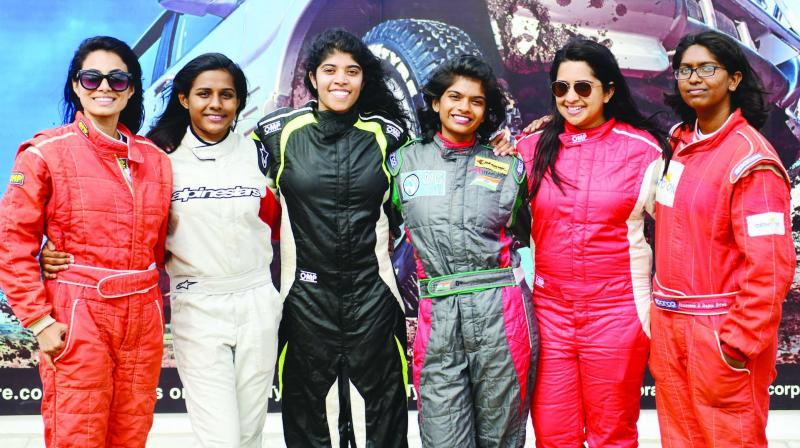 All-women's racing team of Ahura Racing