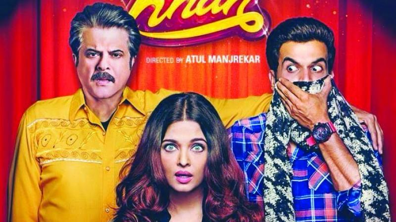 While most people are talking about Rajkummar Rao's chemistry with Aishwarya Rai Bachchan, the actor says that he and Anil Kapoor are the new couple in town.