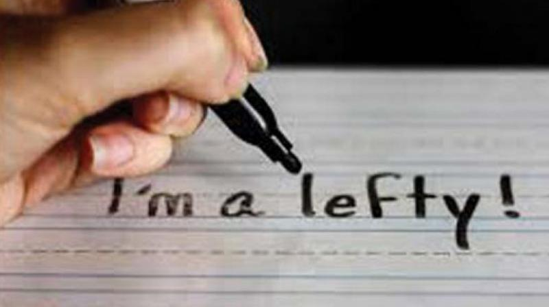 Left-handers have faced extreme and overt discrimination since time immemorial.