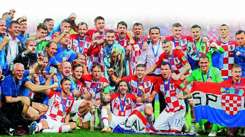 The Croatian football team.