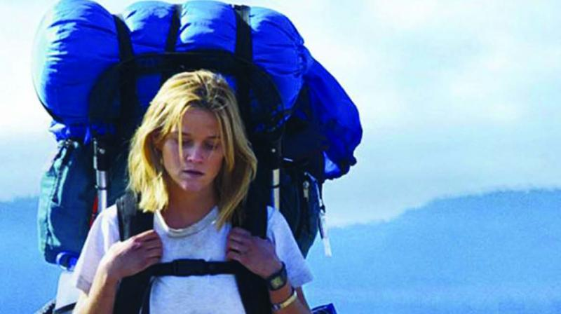 A still from the film Wild.