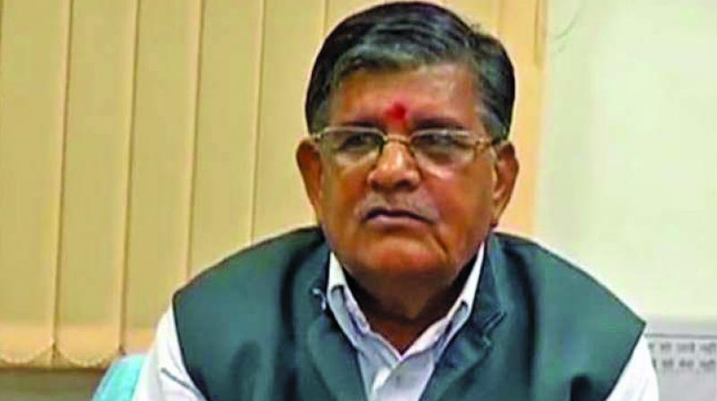 Senior BJP MLA Gulab Chand Kataria replaced outgoing speaker Kailash Meghwal who skipped the function after recently accusing the govt of not adhering to parliamentary rules and traditions in summoning the first session. (Photo: File)