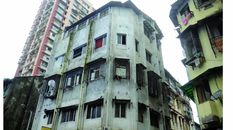 Amina building in Bhendi Bazar. (Photo: Shripad Naik)