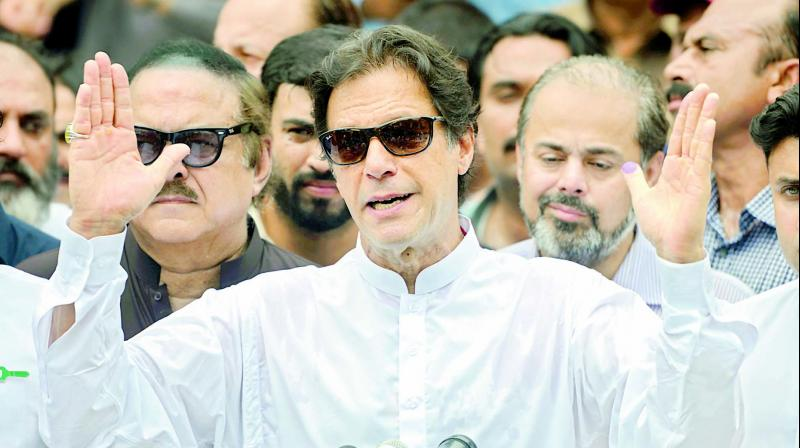 Some media reports suggested that PTI was considering inviting leaders from SAARC countries, including PM Modi, to attend Imran's oath-taking ceremony in Pakistan. (Photo: File)