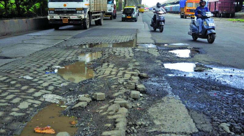Locals held the potholed road responsible for Patil's death. (Photo: Representational)