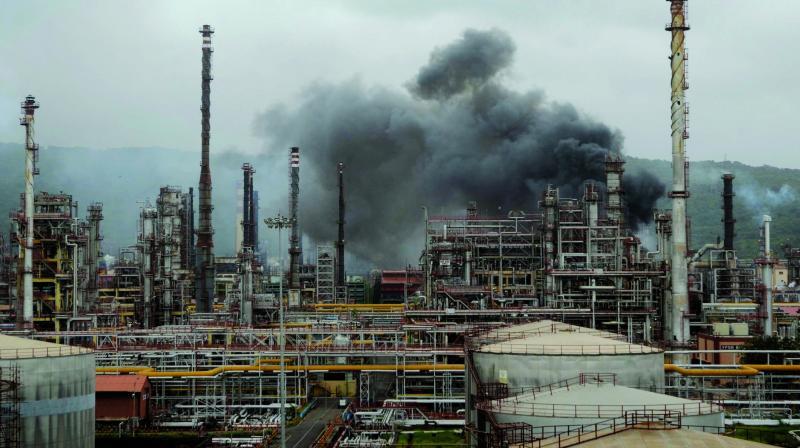 Visual of the refinery. (Photo: Shripad Naik)