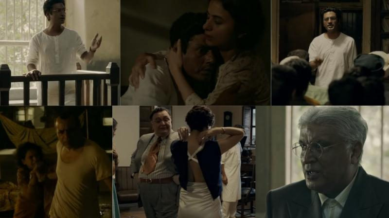 Screengrabs from 'Manto' trailer.