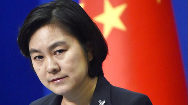 Chinese Foreign Ministry spokeswoman Hua Chunying attends a press briefing at the ministry in Beijing. (Photo: AP)