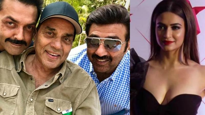 Before Sunny, Bobby and Dharmendra Deol's 'Yamla Pagla Deewana 3', Kriti Kharbanda was seen in 'Veerey Ki Wedding.'