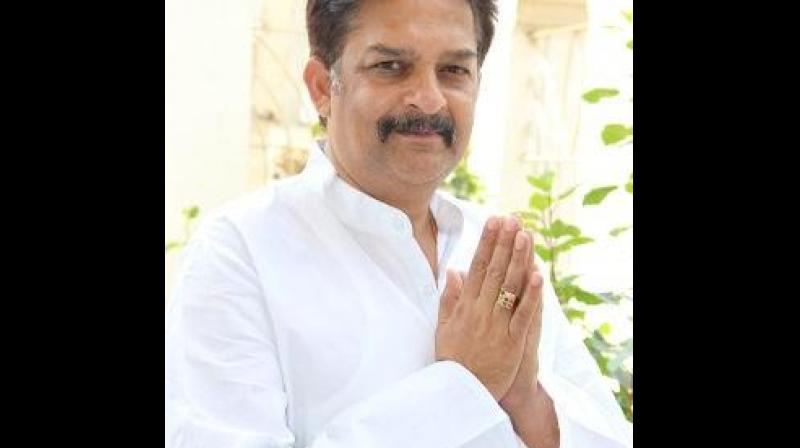'Congress has filed a complaint to the office of Governor against the state government claiming that almost all the ministers are busy in campaigning in favour of their candidates instead of being in office and looking into the issues of their respective areas,' said Congress leader Prakash. (Photo: Twitter   @prmlcPrakash)
