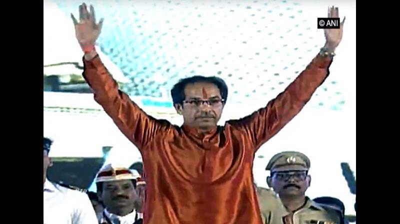 'Congratulations to Uddhav Thackeray Ji on taking oath as the CM of Maharashtra. I am confident he will work diligently for the bright future of Maharashtra. @OfficeofUT.' (Photo: ANI)