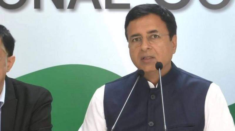 Surjewala also questioned Chief Minister Manohar Lal Khattar for making light of the unemployment problem in the state. (Photo: File)