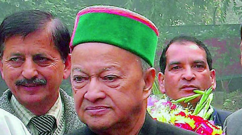 The interim order came on a petition filed by Virbhadra's daughter Aparajita Kumari and son Vikramaditya Singh against the March 31 provisional attachment order (PAO) of the ED. (Photo: PTI)