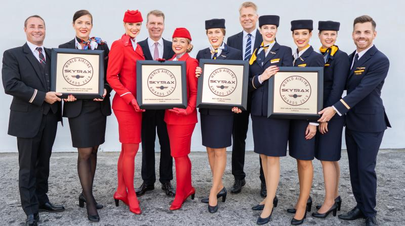 Close to 20 million passengers ranked the Lufthansa Group Hub Airlines as among the best airlines in the world.
