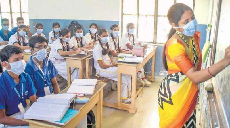 Gross Enrolment Ratio (GER) in 2019-20 is 27.1 per cent against 26.3 per cent in 2018-19 and 24.3 per cent in 2014-2015. (Photo: PTI/Representational Image)