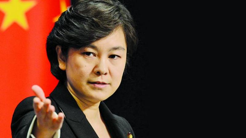 Chinese Foreign Ministry spokesperson Hua Chunying (Photo: AP/File)
