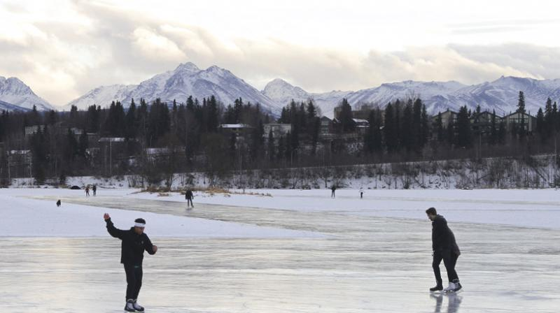 Human-caused warming has significantly affected the seasonal temperature cycle. (Photo: AP)
