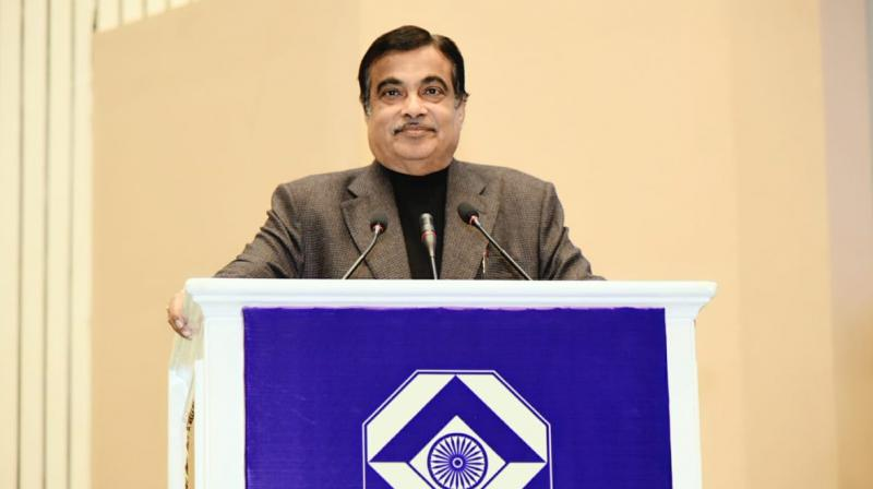 Delivering the 31st endowment lecture of the Intelligence Bureau in Delhi, Union Minister Nitin Gadkari said unity and diversity are an integral part of Indian culture. (Photo: Twitter | @nitin_gadkari)