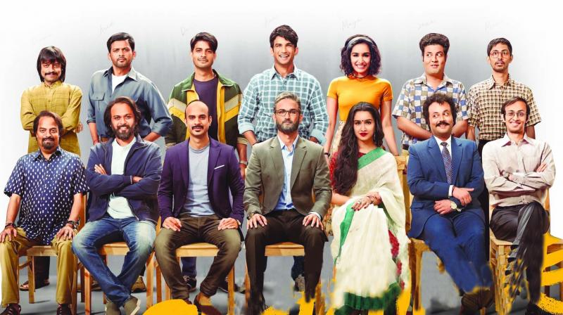 Chhichhore is the kind of film where it's the characters (and not necessarily the actors) which rise above the script that tends to be repetitive, or not too subtle, and often runs out of any freshness to deal with its overall objective.