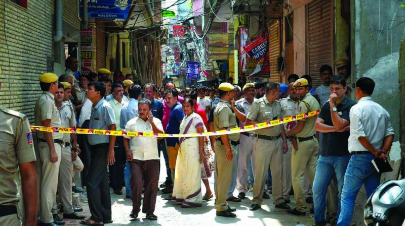The police are awaiting the final postmortem report even though initial findings suggested that the 11 died of hanging. (Photo: PTI)