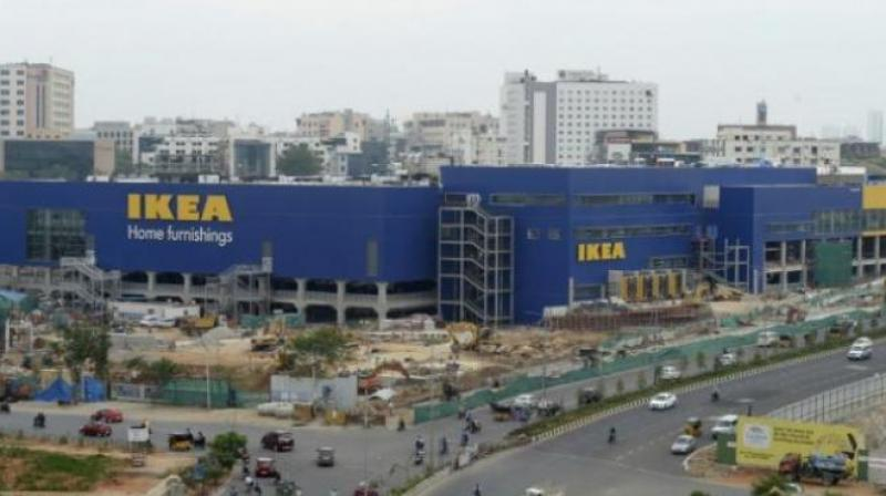 IKEA will do things differently in India after it opens its first store in the nation on Thursday, as it deals with higher taxes on imported goods and looks to woo cost-conscious shoppers unaccustomed to the company's DIY furniture assembly style. (Photo: AFP)