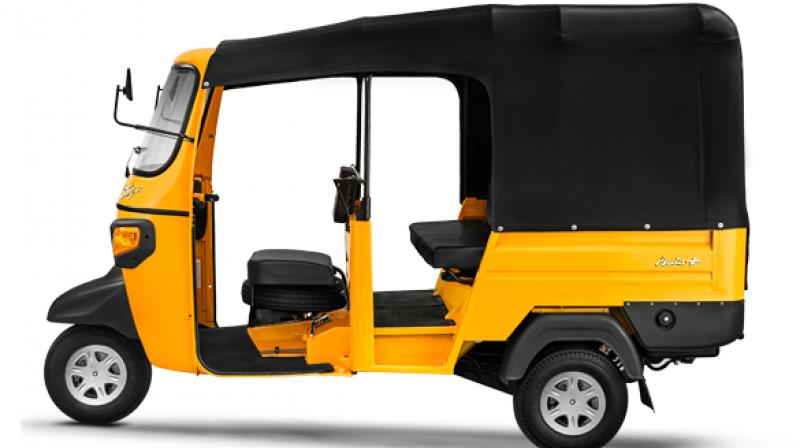 Piaggio Vehicles, the wholly-owned subsidiary of Italian auto major Piaggio group, on Thursday unveiled new series of Ape model of three wheelers in CNG and LPG variants in the domestic market. (Photo courtesy: piaggio.co.in)