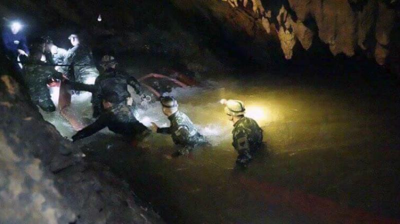 The lack of information about the meticulously planned rescue had baffled observers given that the team were extracted safely. (Photo: AP)