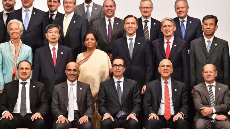 Nirmala Sitharaman, Union Minister of Finance & Corporate Affairs participated in G20 Meeting of Finance Ministers and Central Bank Governors. (AFP- FILE PHOTO)