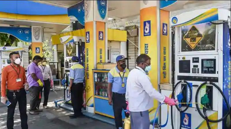 Petrol and diesel sales have slumped over 66 per cent in April. (Photo- PTI)