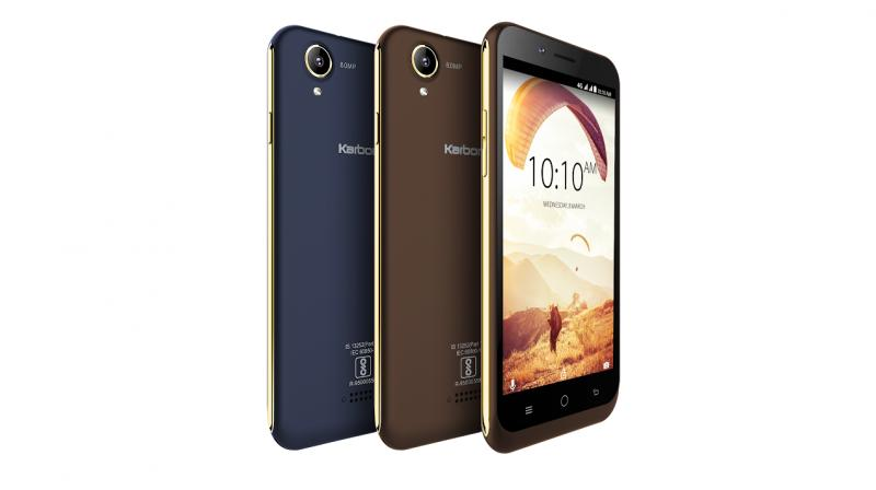 The smartphone is available in two colours- Blue-Champagne and Coffee-Champagne and comes with a free protective cover.